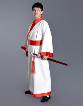 男士汉服--曲裾袍