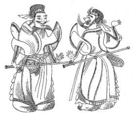 山东沂南汉墓石刻画像